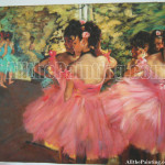 Degas Was Interested Ballet Not Because The Dancers Were All