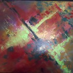 Delpino Abstract Original Painting