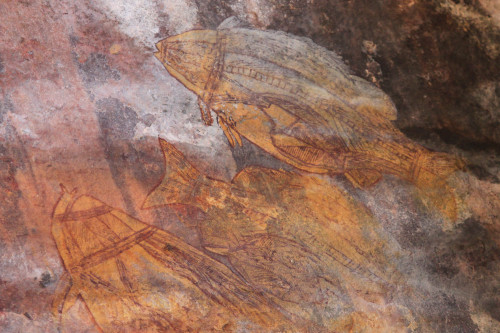 Description Aboriginal Rock Art Ubirr Site Kakadu National Park