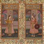 Details About Mughal Miniature Portrait Painting Indian Islamic Art