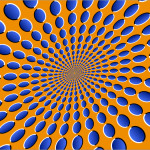 Details About Optical Illusion Abstract Art Print Poster