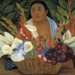 Diego Rivera Paintings Flower Seller Painting