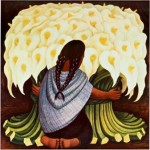 Diego Rivera Paintings The Flower Seller Painting