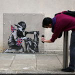 Disputed Banksy Mural Sells For More Than Million Businessweek
