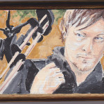 Dixon For Nibblefest Norman Reedus Painting Flickr Sharing