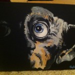 Dobby Harry Potter Painting The Untraditional Traditional Student