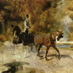 Dog Car Henri Toulouse Lautrec Wikipaintings