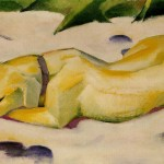 Dog Lying The Snow Franz Marc Wikipaintings