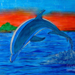 Dolphin Painting Betta Artusi Fine Art Prints And Posters