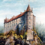 Droll Things Medieval Castle Paintings Jpg