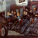 Dust Motorcycle Gear David Mann Painting The Day