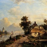 Dutch Landscape Paintings For Web Search