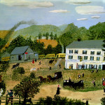 Eagle Bridge Hotel Grandma Moses Wikipaintings