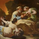 Early Religious Painting Goya Which Hung For More Than Years