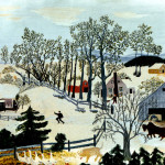 Early Springtime The Farm Grandma Moses Wikipaintings