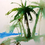 Easy Trees How Paint Palm