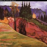 Edvard Munch Paintings Painting Forest Order Now