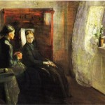 Edvard Munch Paintings Spring Painting
