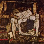 Egon Schiele Paintings Blind Mother Painting