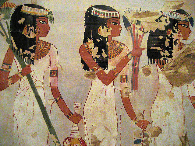 Egyptian Wall Paintings From The New Kingdom Flickr Sharing