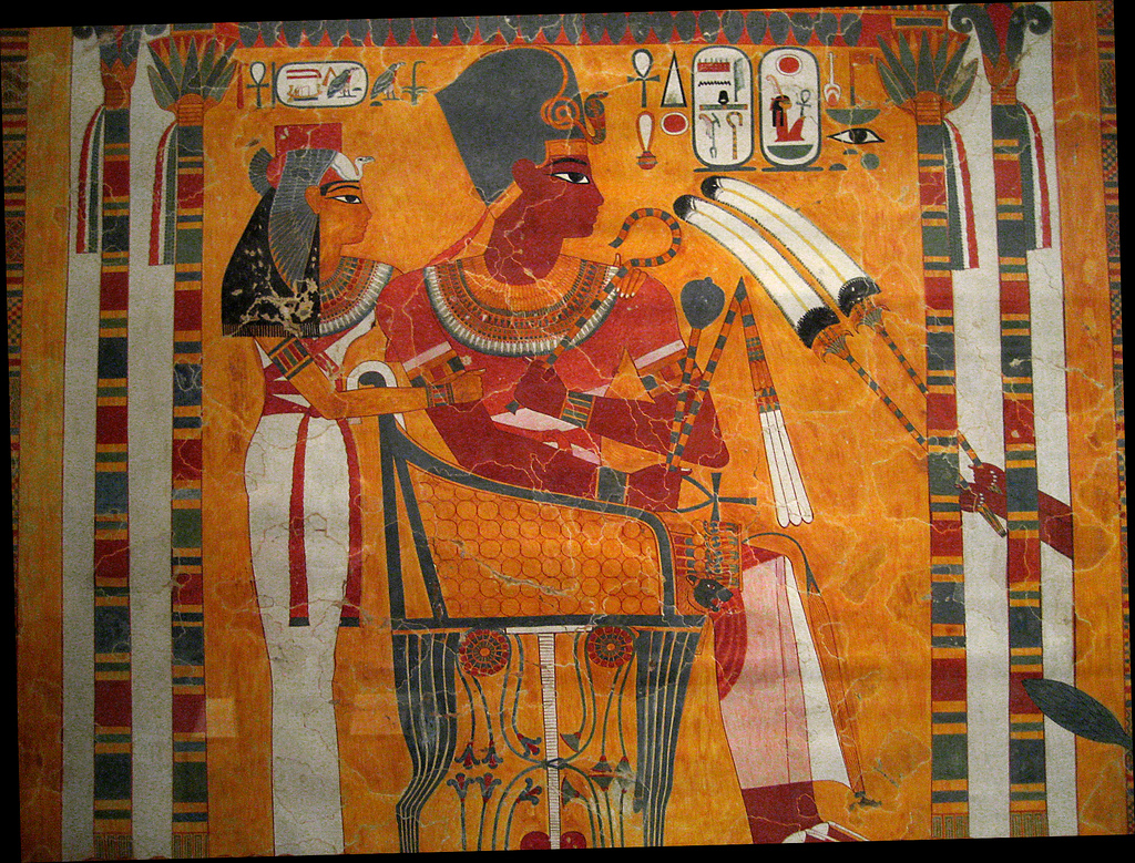 Egyptian Wall Paintings From The New Kingdom Flickriver