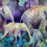 Elephant Painting Fine Art Print