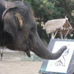 Elephant Painting Thb Picture