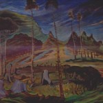 Emily Carr Plumed Firs Allpaintings Art Portal