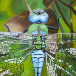 Emperor Dragonfly Painting Bryan Ory Fine Art