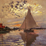 Enlarge Painting Name Sailboat Petit Gennevilliers