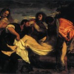 Entombment Christ Titian Wikipaintings