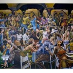 Ernie Barnes Disco Signed And Numbered Limited Edition African