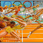 Ernie Barnes Paintings Image Search Results