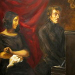 Eug Delacroix Chopin And Sand Originally From