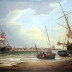 European Paintings The Ship Liverpool Mersey Seen From