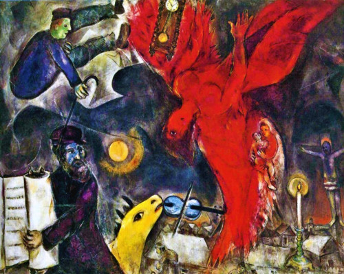 Everything Works From The Head Almost Nothing Marc Chagall