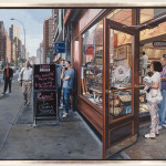 Example One Richard Estes Realistic Paintings This
