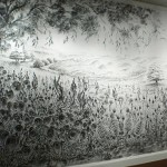 Extraordinary Charcoal Dust Paintings Judith Braun Pondly
