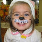 Face Painting Cat Creative Paintings
