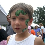 Face Painting Earth Creative Paintings