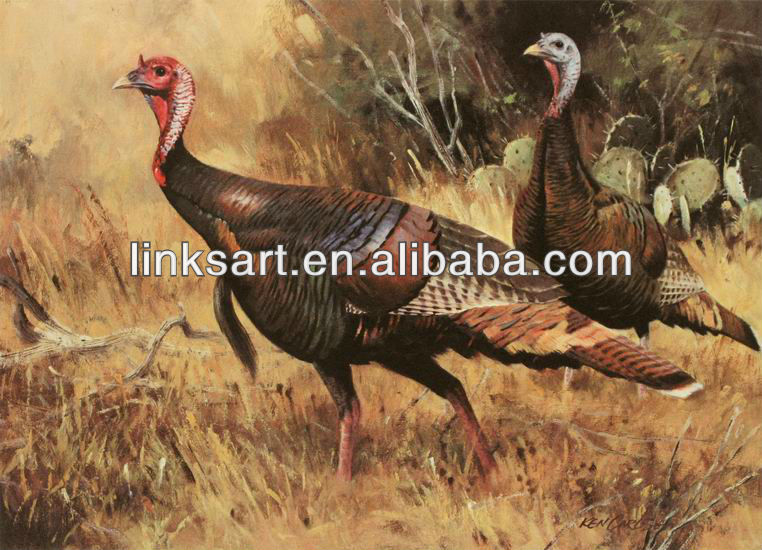 Famous Animal Paintings Funny For Decoration