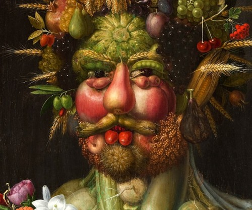 Famous Arcimboldo Portrait The Air Art News Gossip Artinfo