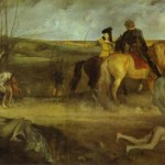 Famous Art Work Drawing Edgar Degas The Suffering City