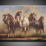 Famous Artist Paintings Reproduction Horse Painting
