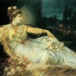 Famous Artists Paintings And Biography Hans Makart From Vint
