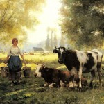 Famous Cows Paintings For Sale
