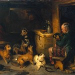 Famous Dog Paintings Highland Music