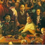 Famous Faces One Painting Chinahush