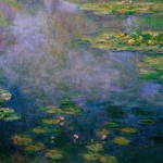 Famous Water Lilly Painting Claude Monet Art