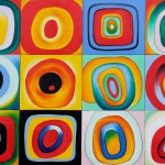 Farbstudie Quardrate Wassily Kandinsky Oil Painting Reproduction For